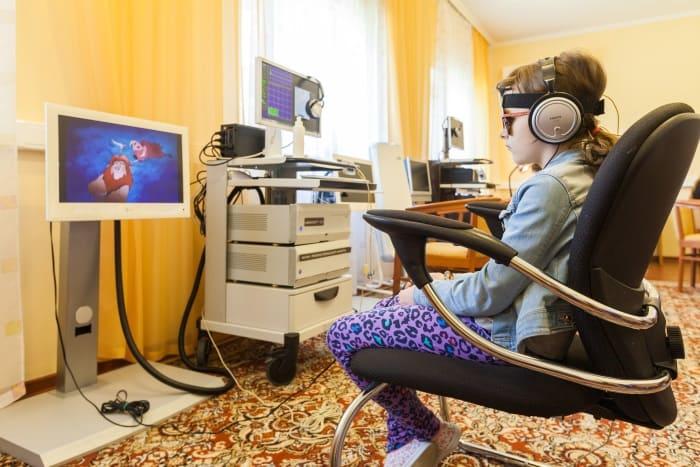 Картинка компьютерный аутотренинг в Детском медицинском центре УДП РФ